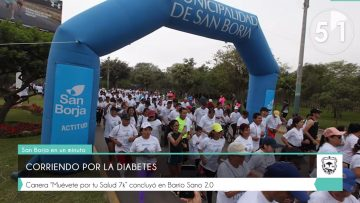 corriendo por la diabetes